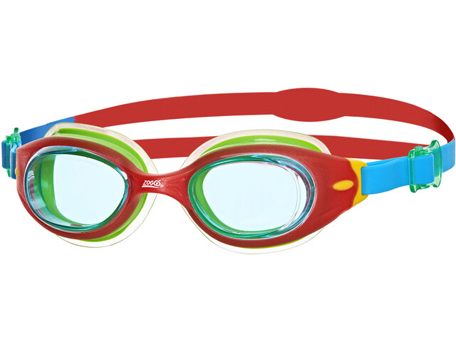 Zoggs Little Sonic Air Goggles Kinderen, rood/blauw